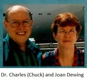 Dr Charles Dewing and Joan Dewing